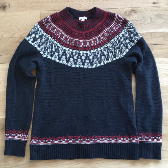 75% off GAP Sweaters - Gap Reverse Knit Fair Isle Sweater from ...